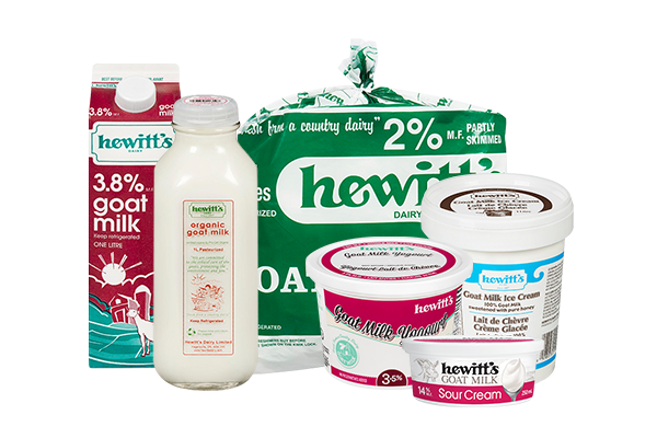 Product group photo for - Goat Milk Products