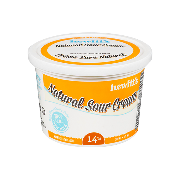 Photo of - HEWITT'S - Sour Cream
