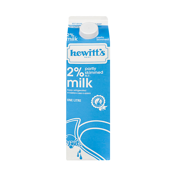 Photo of - HEWITT'S - 2% Milk