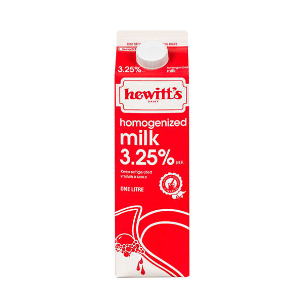 Photo of - HEWITT'S - Homogenized Milk