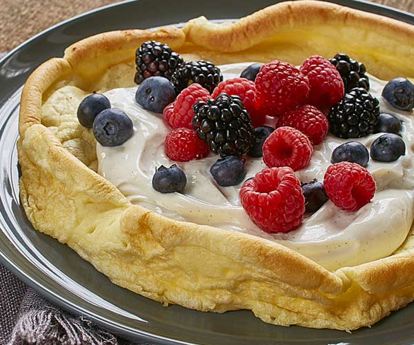 Photo of - Vanilla Berry Dutch Babies