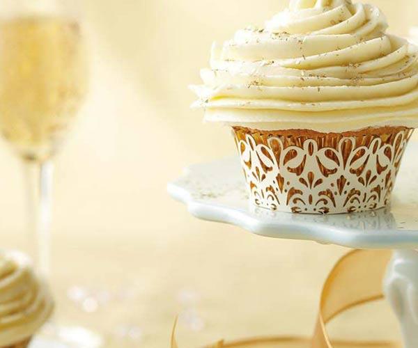 Photo of - Anniversary Buttercream Cupcakes
