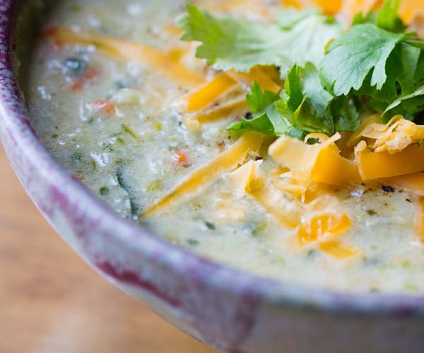 Photo of - Cheddar Vegetable Chowder