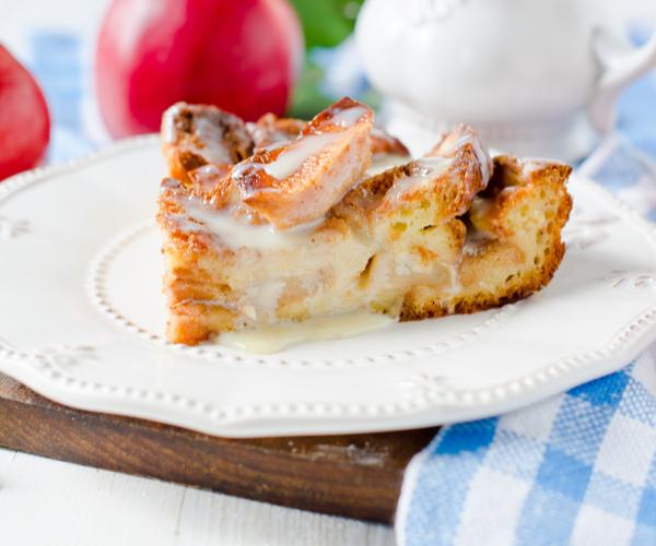 Photo of - Strata aux pommes et à la cannelle