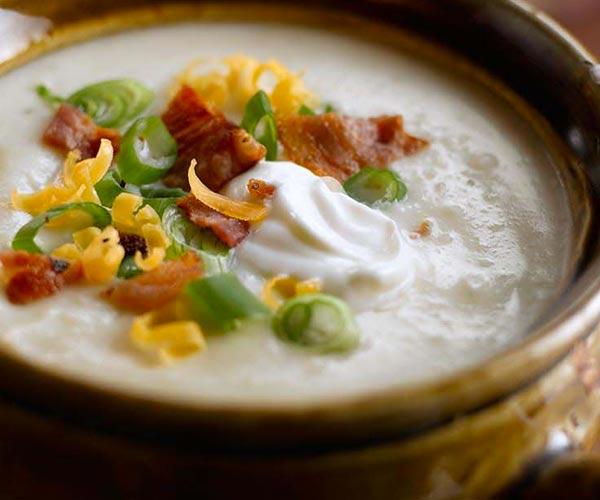 Photo of - Loaded Baked Potato Soup