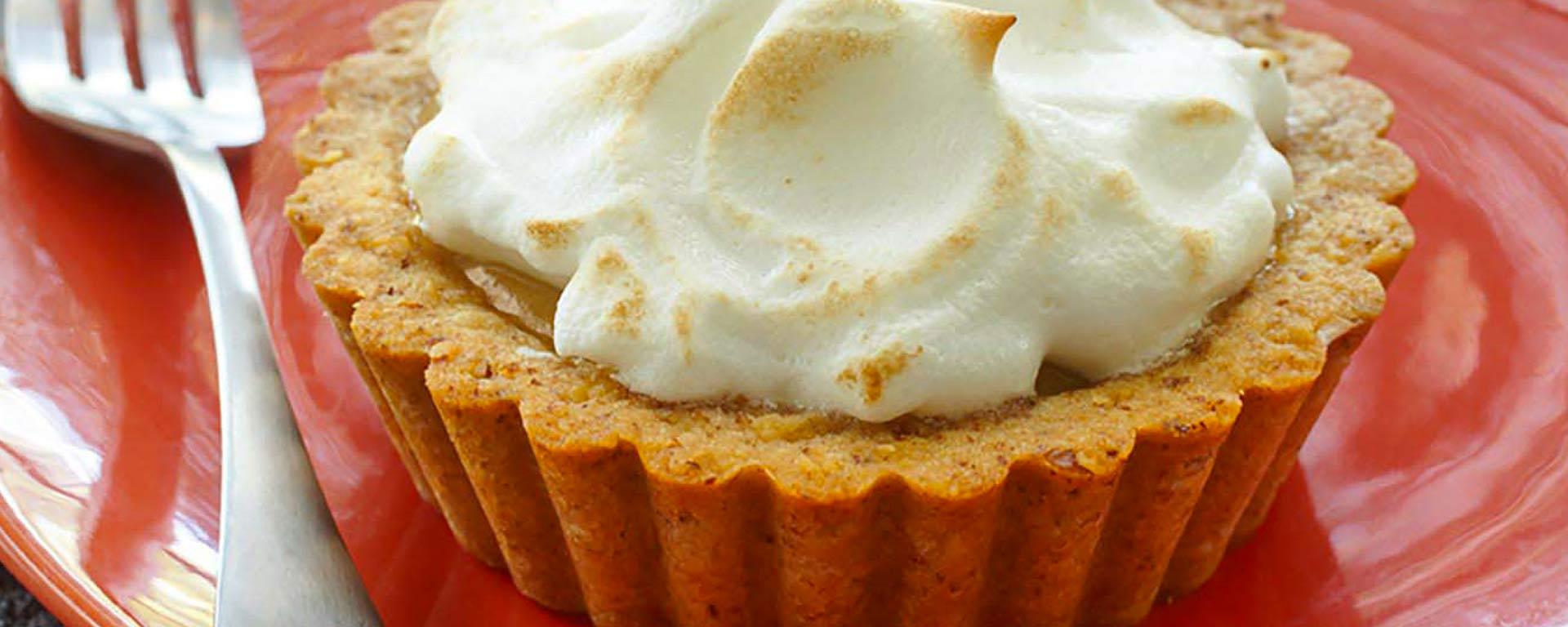 Photo for - Pecan Mini Butterscotch Meringue Shortbread Pies