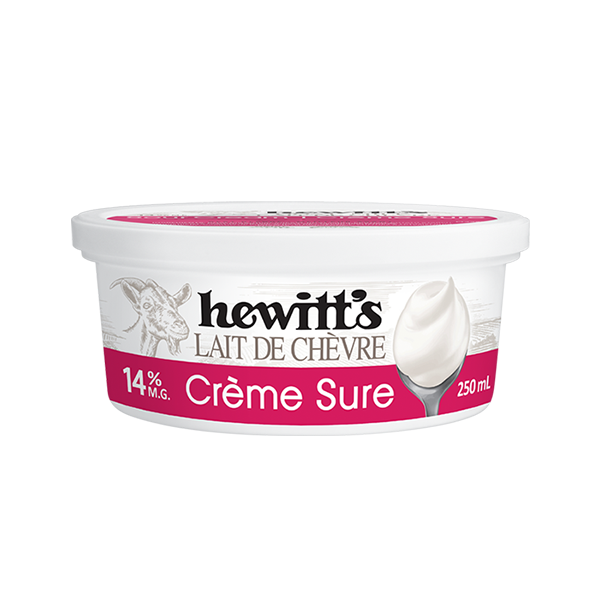 Photo of - Crème sure de lait de chèvre